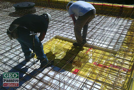Geo passive the icf floor slab foundations solution for Slab on grade ontario
