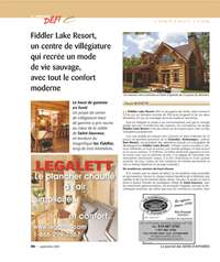 Journal Nouveau Defi: Fiddler Lake Resort
