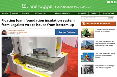 Read the Review on Legalett's Passive House External Wall Insulation ThermalWall PH Panel in Treehugger
